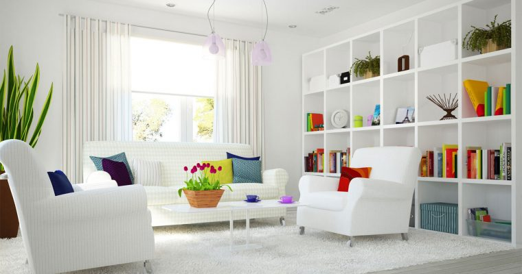 White décor,for Classy looks
